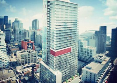 Prime King West condo for an overseas client new to the city