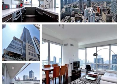 SOLD; prime TIFF location, amazing view and 1200 sq ft of premium downtown living