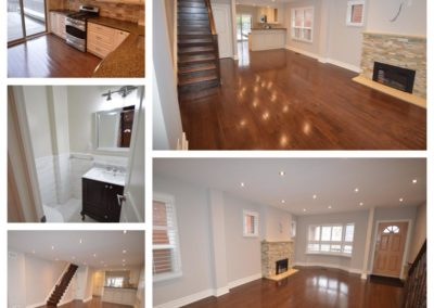 Leased, beautiful 3 bedroom house in the Yonge and Eglinton area