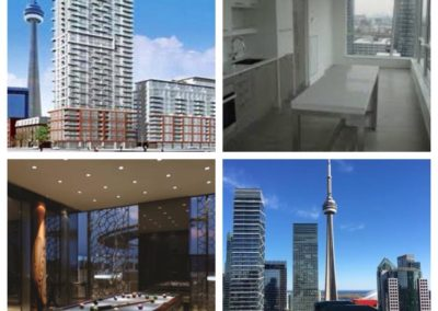 LEASED, Nelson St. Beautiful 2 bedroom unit with an amazing view of the CN Tower.