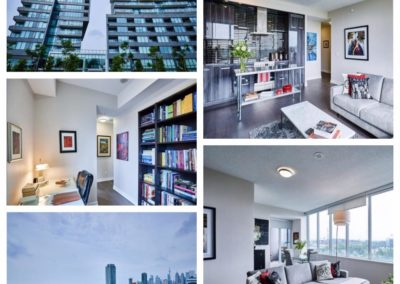 SOLD, Bayview Avenue, 2 bed + den condo