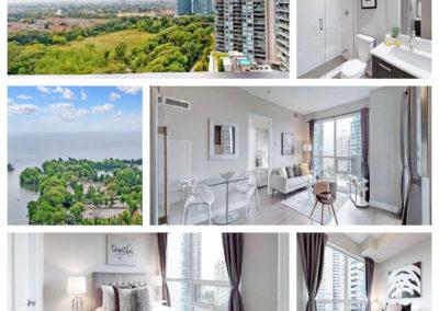 Sold: Humber Bay lake and park view, 2 bedroom condo