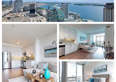 Sold: 33 Bay St. 1+den amazing waterfront views, great layout