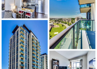 Sold: Beautiful conservation views from this 1+den condo in Brampton